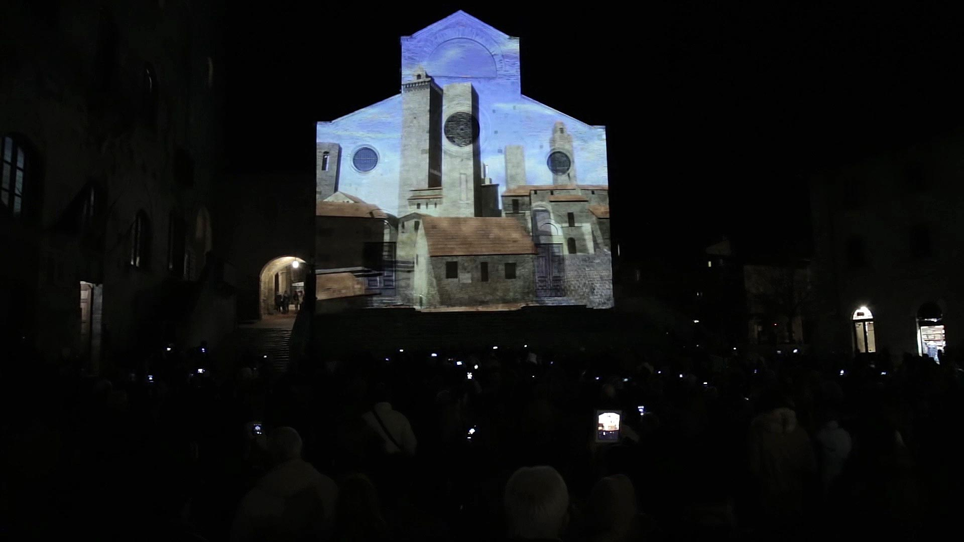 Mapping San Gimignano Lumiere by Visual Groove