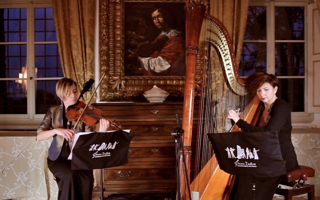 Una splendida giornata di riprese video dal vivo nelle colline fiorentine